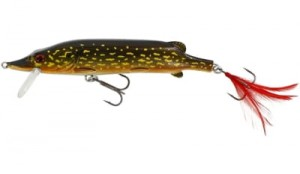 WOBLER Westin Mike The Pike Crankbait 14cm 30g Floating Metal Pike (P040-145-020)