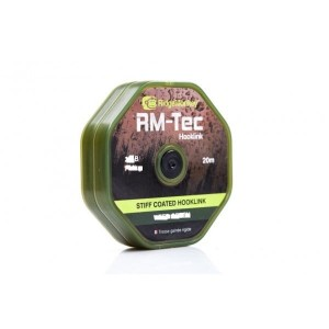Ridge Monkey RM Tec Soft Coated Hooklink 25lb Brown